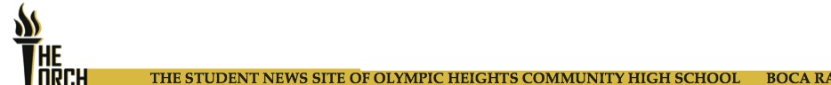 The award-winning student news site of Olympic Heights High School
