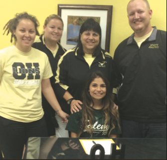 OH softball star Samantha Perez accepts softball scholarship from Salem Int'l. U.