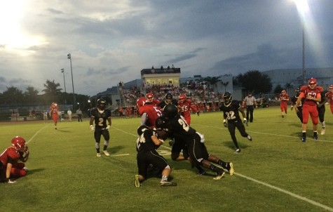 OH Football Team Wins Season Opener; Drops Second Game to Spanish River