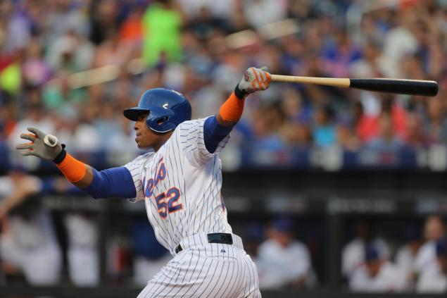 Yoenis Cespedes  is putting up monster numbers since being acquired by the Mets from the Tigers at the trading deadline, and he could be the catalyst that propels the Mets into the World Series.