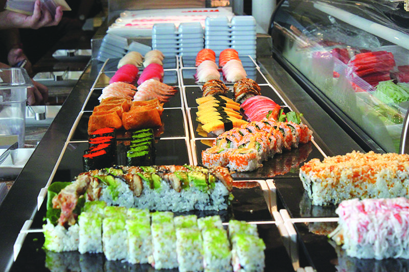 Santo S Modern American Buffet Sushi Best In Town