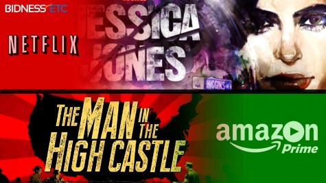 """Netflix's """"Jessica Jones"""" and Amazon Prime's """"The Man in the High Castle"""" an Excellent Find"""