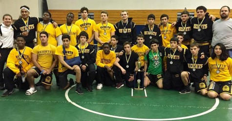 OH Wrestling Remains Top Ranked Team in the County