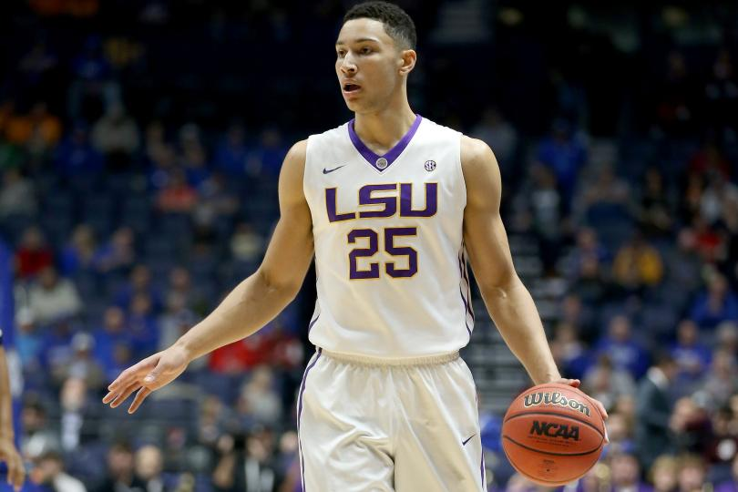 LSU's Ben Simmons will be going to the Philadelphia 76ers as the first pick of the 2016 NBA draft.