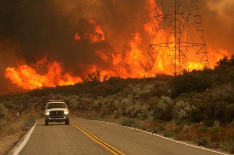 Summer Wildfires Ravage California