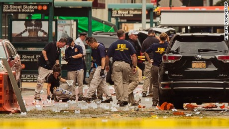 New York, New Jersey Bombings Suspected Terrorist Attacks