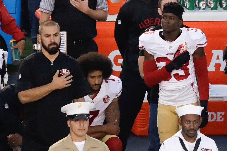Media Loses Focus on Kaepernick's Kneeling Anthem Protest