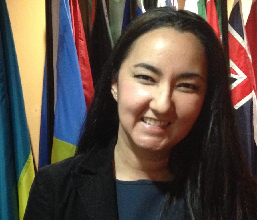 Santaluces+and+FAU+grad+Lelya+Sharafi+has+dedicated+herself+to+improving+women%27s+rights+on+a+global+scale.