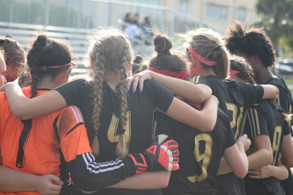Girls Soccer Beats Lauderdale 6-0; Boys Fall to River 4-2