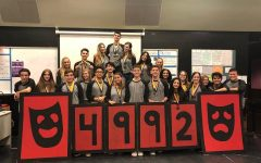 Olympic Heights Drama Troupe Wins Big at Districts