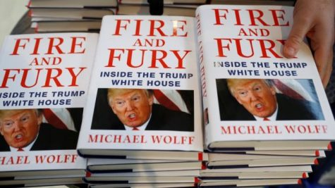 Trump Expose Fire and Fury Becomes a Best-Seller Amid a Firestorm of Furious Controversy