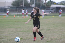 Defense Shines As Girls Soccer Downs Boca Christian 2-0