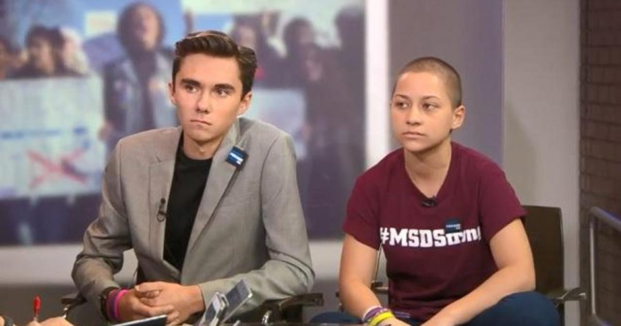 Marjory+Stoneman+Douglass+students+David+Hogg+%28left%29+and+Emma+Gonzalez+have+become+the+face+of+the+new+teen+activists+fighting+for+sensible+gun+legislation+with+a+focus+on+turning+out+the+youth+vote+in+upcoming+elections.
