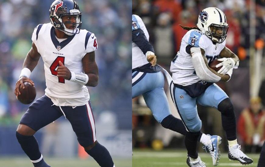 Smart fantasy football draftniks will target Houston quarterback Deshaun Watson and Tennessee running back Derrick Henry.