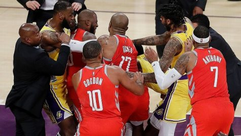 Los Angeles Lakers Slow Start Complicated by Suspensions Resulting from Fight with Houston Rockets