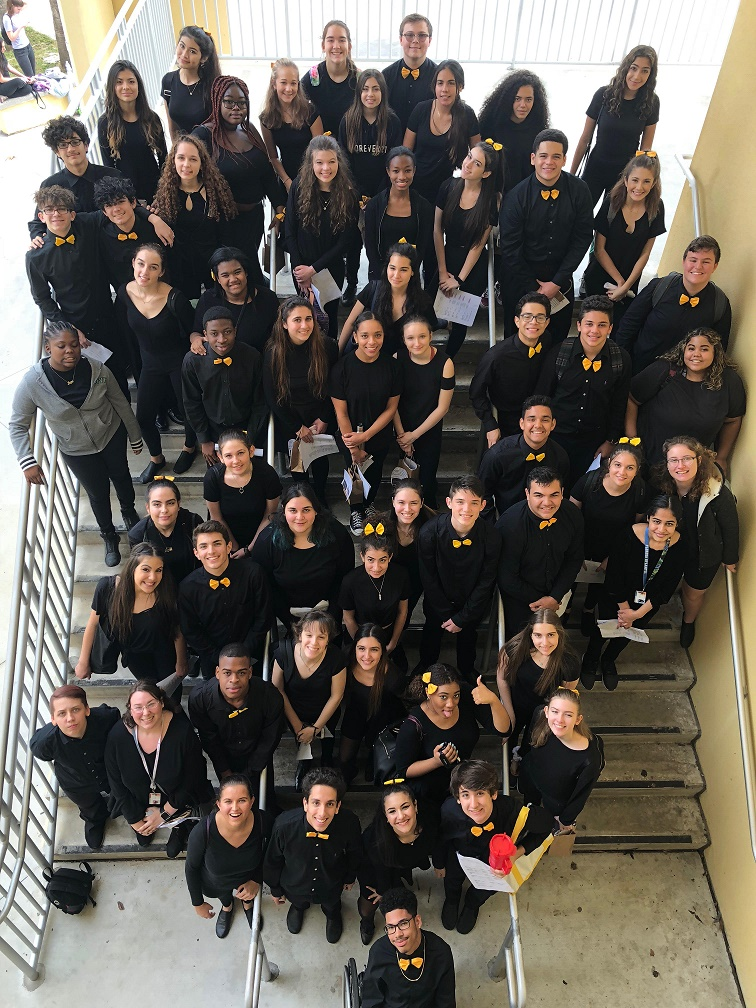 The Olympic Heights Drama Troupe 4992  wowed judges at the district competition.