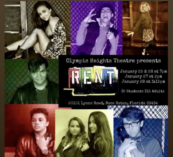 OH Drama to Stage Award Winning Musical Rent