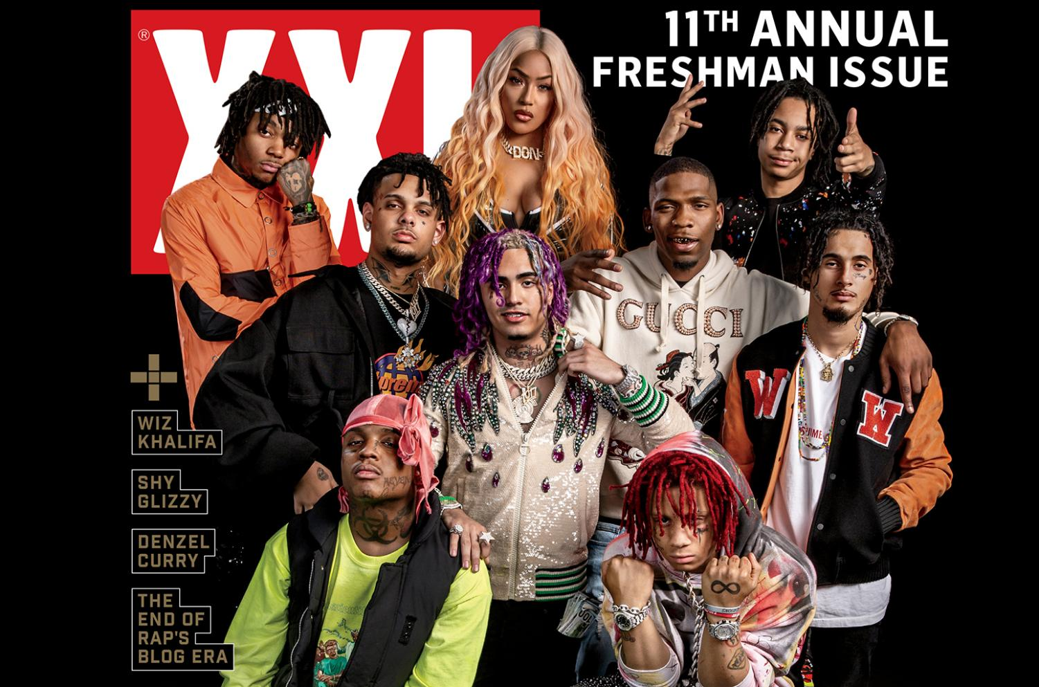 XXL's Freshman class of 2018 featured Ski Mask The Slump God, Lil Pump, Smokepurpp, J.I.D, Stefflon Don, BlocBoy JB, YBN Nahmir, Wifisfuneral, and Trippie Redd.