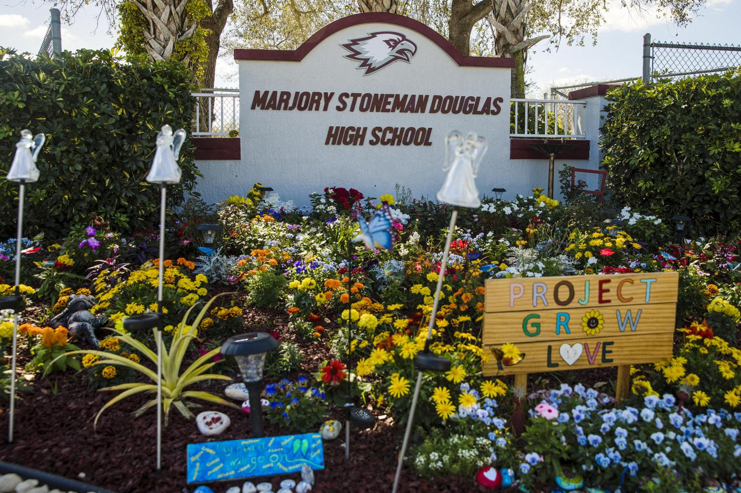 Olympic Heights is paying honor to the victims of the Marjory Stoneman Douglas shooting on the first anniversary of the shooting that claimed 17 lives there.