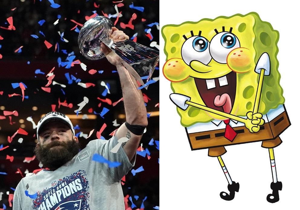 Of course, Super Bowl LIII MVP Julian Edelman was a big winner, but how can SpongeBob Squarepants be a loser?