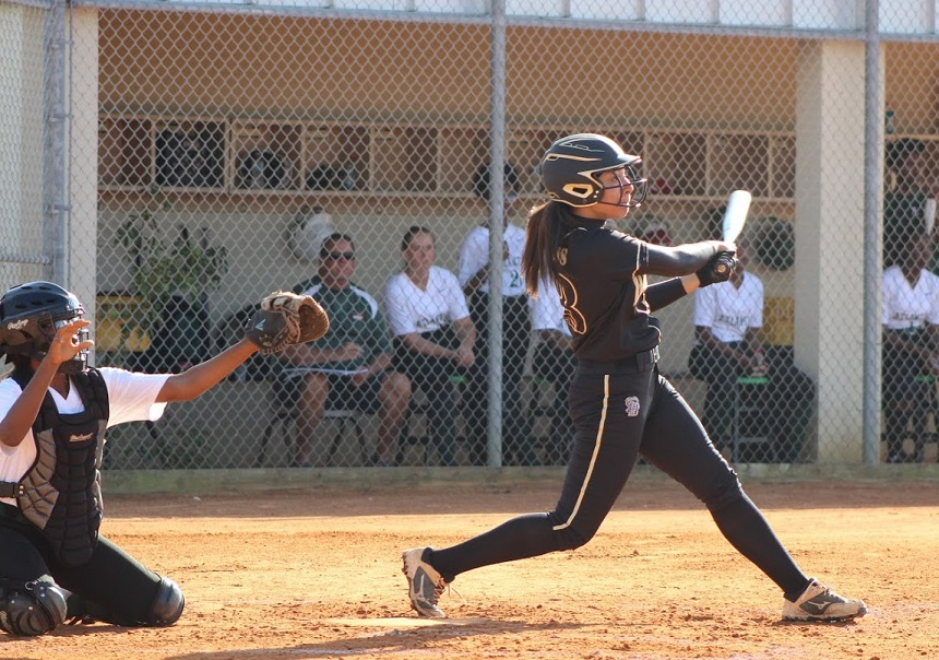 Gabi+Obando%27s+%28shown+here+batting+against+Atlantic+High%29+ninth+inning+home+run+gave+the+Olympic+Heights+softball+team+the+1-0+win+over+previously+undefeated+Martin+County.