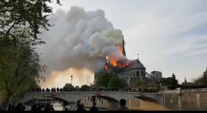 Over one billion dollars was raised to rebuild the Notre Dame Cathedral in Paris which caught fire on April 15.