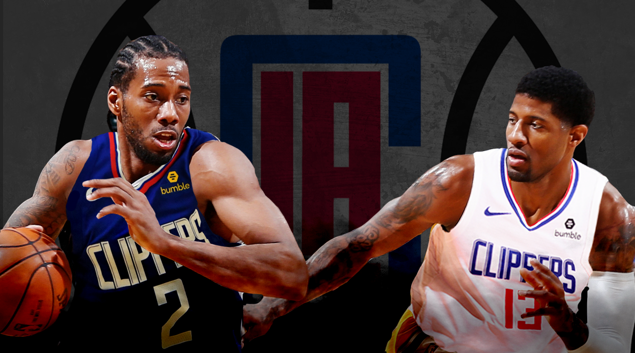 The Los Angeles Clippers' acquisition of Kawhi Leonard (left) and Paul George make them the team to beat for the 2109-2020 NBA season.