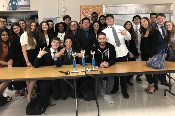 The Olympic Heights Debate Team earned a first, second, and fifth place at an Oct. 12 competition.