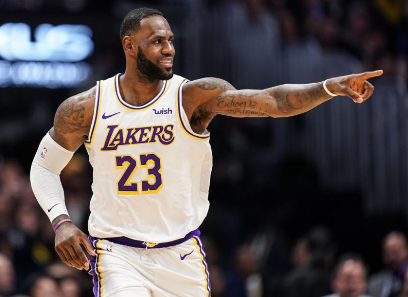 LeBron James has the Lakers pointed to a NBA title and himself to a fifth league MVP award.