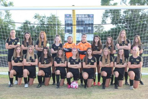 The 2019-2020 Olympic Heights Girls Varsity Soccer Team
