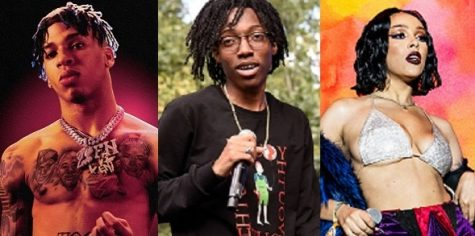 NLE Choppa (left), Lil Tecca (center) and Doja Cat (right) have earned the right to claim XXL Magazine's Freshmen Class status.