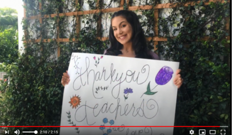 TEACHER APPRECIATION WEEK: Olympic Heights students show the love for their teachers via video