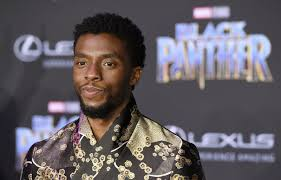 Actor Chadwick Boseman at a screening of Black Panther.