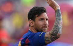 Soccer superstar Lionel Messi was prepared to wave bye-bye to his longtime Barcelona club but will be staying through the 2020-21 season.