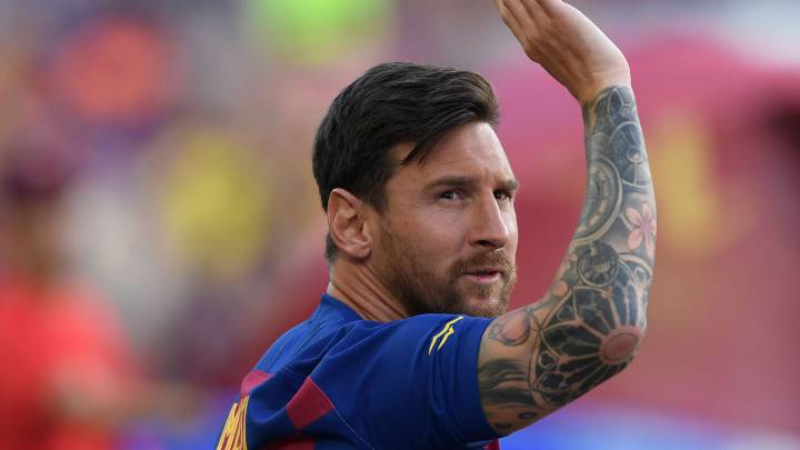 Soccer+superstar+Lionel+Messi+was+prepared+to+wave+bye-bye+to+his+longtime+Barcelona+club+but+will+be+staying+through+the+2020-21+season.