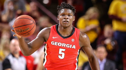 The Torch projects that the Minnesota Timberwolves will make Georgia's Anthony Edwards the overall #1 pick in tonight's 2020 NBA draft.