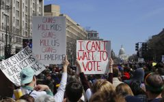 Even those too young to vote have other ways of having their voices heard.