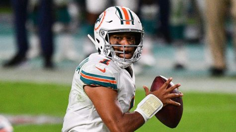 Rookie Tua Tagovailoa has led the Miami Dolphins to three straight wins since being inserted as the starting quarterback.