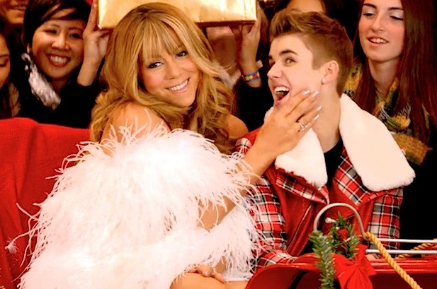 Some+people+already+uncomfortable+with+the+lyrics+of+Mariah+Carey%27s+%22All+I+Want+for+Christmas+Is+You%22+were+furthered+creeped+out+by+her+video+collaboration+of+the+song+with+Justin+Bieber+as+it+showed+a+woman+seemingly+preying+on+a+man+half+her+age.
