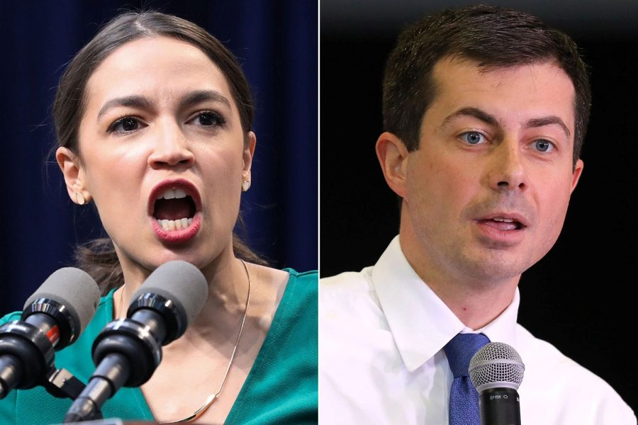 New+York+Congressperson+Alexandria+Ocasio-Cortez+%28left%29+and+former+South+Bend%2C+Indiana%2C+mayor+Pete+Buttigieg+%28right%29+are+among+the+newer%2C+more+vibrant+crop+of+politicians+that+are+getting+younger+people+more+involved+in+politics.