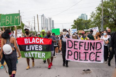 Many people took to the streets during the summer and up to the 2020 presidential election in protest of systemic racism in law enforcement agencies.
