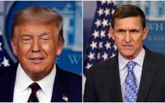 Many have questioned outgoing president Donald Trump's pardons of his political cronies, such as that of his former national security adviser Michael Flynn (right).