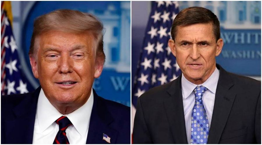 Many+have+questioned+outgoing+president+Donald+Trump%27s+pardons+of+his+political+cronies%2C+such+as+that+of+his+former+national+security+adviser+Michael+Flynn+%28right%29.