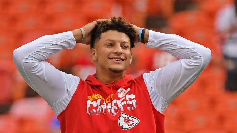 Kansas+City+Chiefs+quarterback+Patrick+Mahomes+looks+to+lead+his+team+over+the+Buffalo+Bills+and+to+its+second+consecutive+Super+Bowl+in+today%27s+AFC+Championship+game.