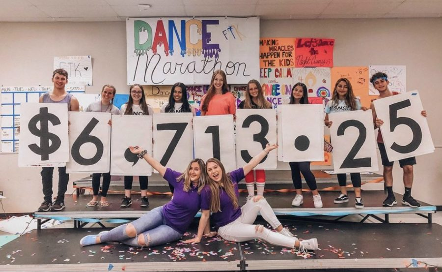 Last year's Olympic Heights' Miracle Network Dance Marathon raised over $6,700 for children battling severe illnesses.