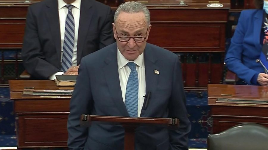 With the Democrats taking control of the U.S. Senate, Sen. Chuck Schumer (D-NY) takes over as Senate majority leader.