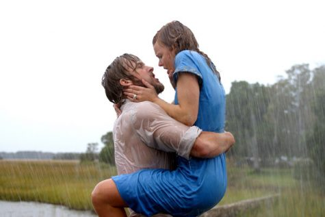The Notebook, starring Ryan Gosling and Rachel McAdams,  tops The Torch