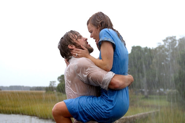 The Notebook, starring Ryan Gosling and Rachel McAdams,  tops The Torch's list of romantic comedies to watch with your significant other on Valentine's Day.