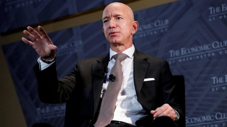 Amazon founder and CEO is stepping down as the company's leader.