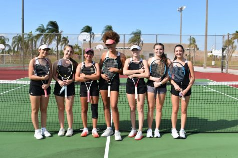 The Olympic Heights girls tennis team is 3-1 in the 2021 season
